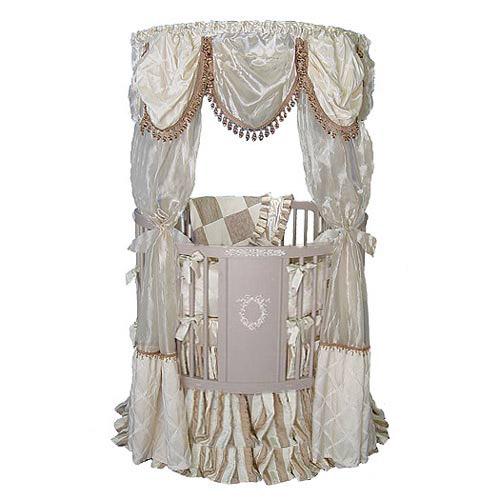 Moscato Round Canopy Crib  sc 1 st  Baby Crib Boutique & Baby Furniture u0026 Bedding Moscato Round Canopy Crib