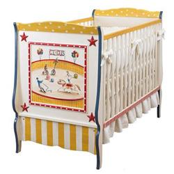 circus fun baby crib high end crib. Black Bedroom Furniture Sets. Home Design Ideas