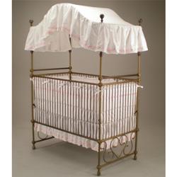 Riley's Roses Round Crib 21-piece Bedding Set | Overstock.com